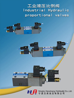 Industrial hydraulic proportional valves