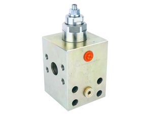 Single counterbalance valves with flangeable body Factory ,productor ,Manufacturer ,Supplier